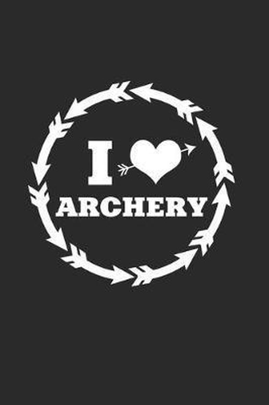 I Achery: 6x9 Archery - grid - squared paper - notebook - notes
