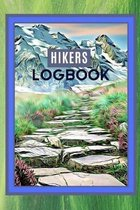 Hikers Logbook: Record Your Hiking Trips In One Place