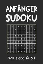 Anf�nger Sudoku Band 7 200 R�tsel: Puzzle R�tsel Heft, 9x9, 2 R�tsel pro Seite