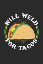 Will weld for tacos: 6x9 Welding - grid - squared paper - notebook - notes