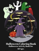 Halloween Coloring Book Halloween activity Book For all Ages: Big Pumpkin Halloween Coloring Book Silly & Simple Pumpkin Designs for all Ages Funny sp