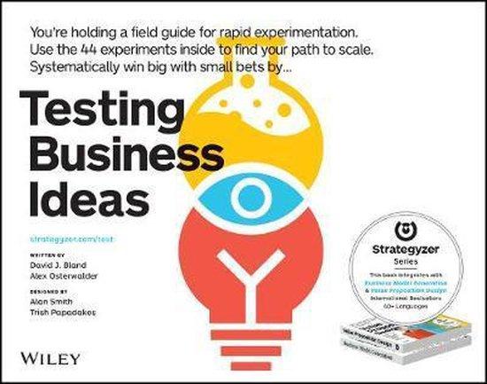 Boek cover Testing Business Ideas van David Bland (Paperback)