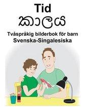 Svenska-Singalesiska Tid/කාලය Tvasprakig bilderbok foer barn