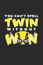 Twin win: 6x9 Twins - grid - squared paper - notebook - notes