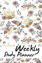 Weekly Study Planner: Mid Year Week To A Page 6''x9'', 52 weeks mid year diary