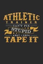 Athletic Trainer: 6x9 Athletics - dotgrid - dot grid paper - notebook - notes