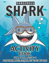 Shark Activity Book For Kids Ages 4-8