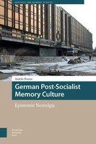 Boek cover German Post-Socialist Memory Culture van DR. Amieke Bouma