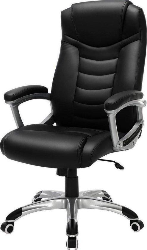 Luxe Design Manager Bureaustoel - Ergonomische Directiestoel - Kunstleer - Zware Belasting
