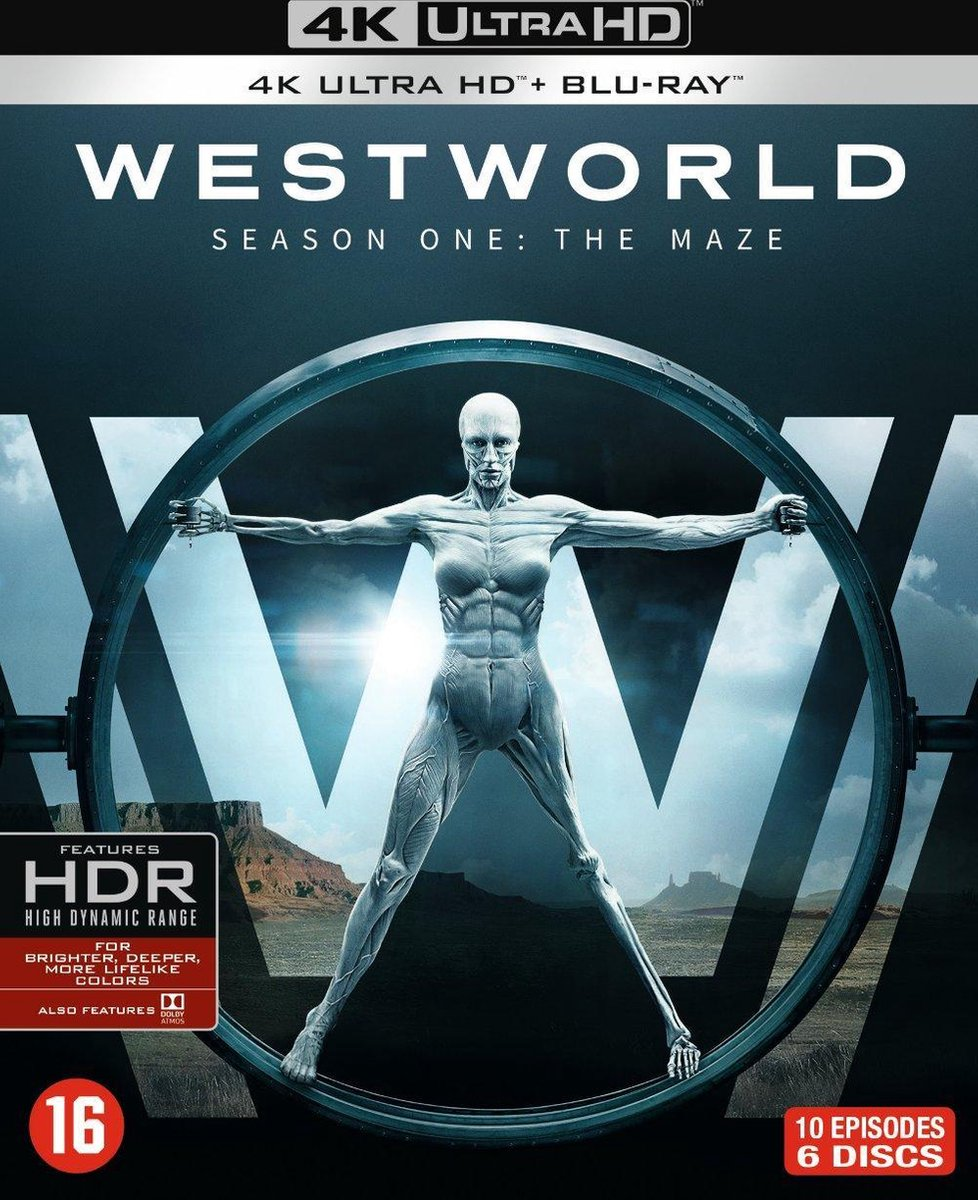 Westworld - Seizoen 1 (4K Ultra HD Blu-ray)-