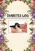 Diabetes Log: 7 x 10 Daily / Weekly Diabetes Log Sheet Notebook of Blood Sugar, Insulin, Carbs & Activity Levels Floral Frame Cover