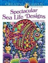 Creative Haven Spectacular Sea Life Designs Coloring Book