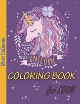 Unicorn Coloring Book for Kids: Ages 4-8, A Fun Kids Activity Book, Unicorn Coloring, Unicorn Kids Book, Children Coloring Books