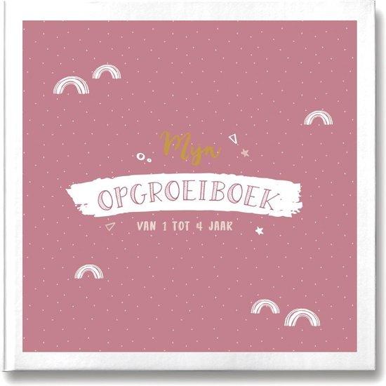 Afbeelding van Mijn opgroeiboek - Invulboek voor 1 tot 4 jaar - roze