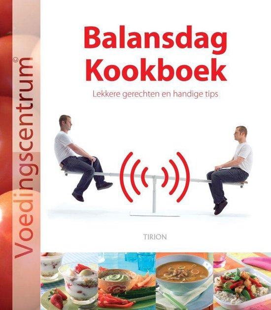 Cover van het boek 'Balansdag Kookboek'