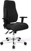 Topstar Point 91 Bureaustoel - Ergonomisch - Voor Volwassenen – Draaistoel met Armleuningen - Zwart
