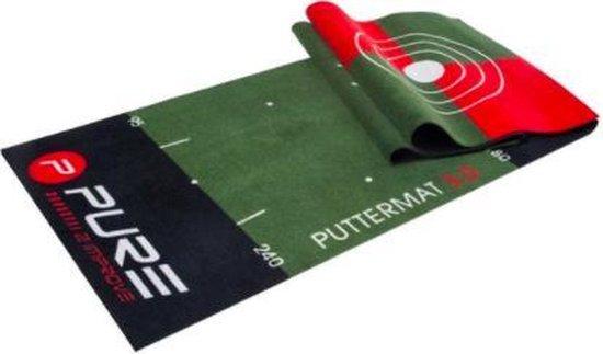 Pure2Improve Golf Putting Mat 65 x 300cm