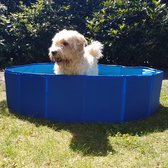 De Huisdiersuper Hondenzwembad - 120 x 30 cm - Blauw