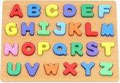 Alfabet Puzzel voor kinderen - Hout - 30x20CM - Houten Alfabet Puzzle - Klassiek Speelgoed – Cadeautip