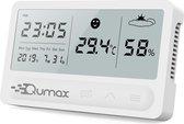 Qumax Digitale Hygrometer - Thermometer voor binne