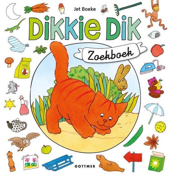 Boek cover Dikkie Dik  -   Dikkie Dik zoekboek van Jet Boeke (Onbekend)