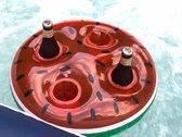 Opblaasbaar Drijvend Dienblad Watermeloen Bar 45x45x10cm