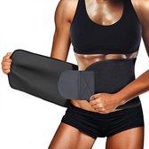 AJ-Sports - Sauna belt - Afslankband - Afslankgordel - Zweetband- Zweetband buik - Sweat belt - Sauna band - Buikband afvallen - Waist trainer - Waist shaper  - Thuis sporten - Home gym - Fitness