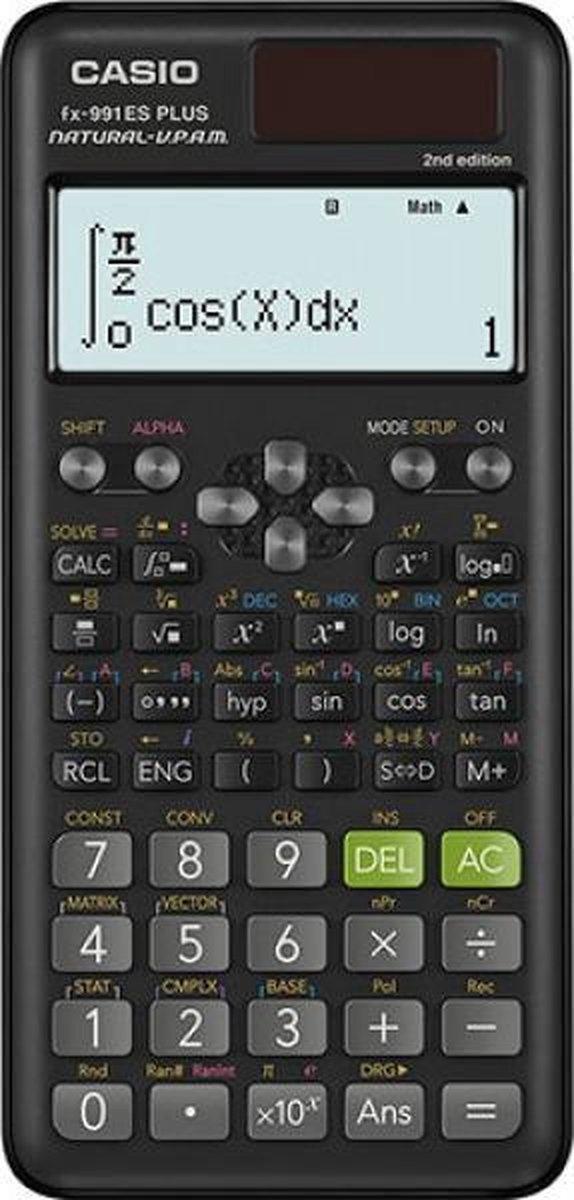 Casio FX-991ES PLUS 2nd Edition rekenmachine