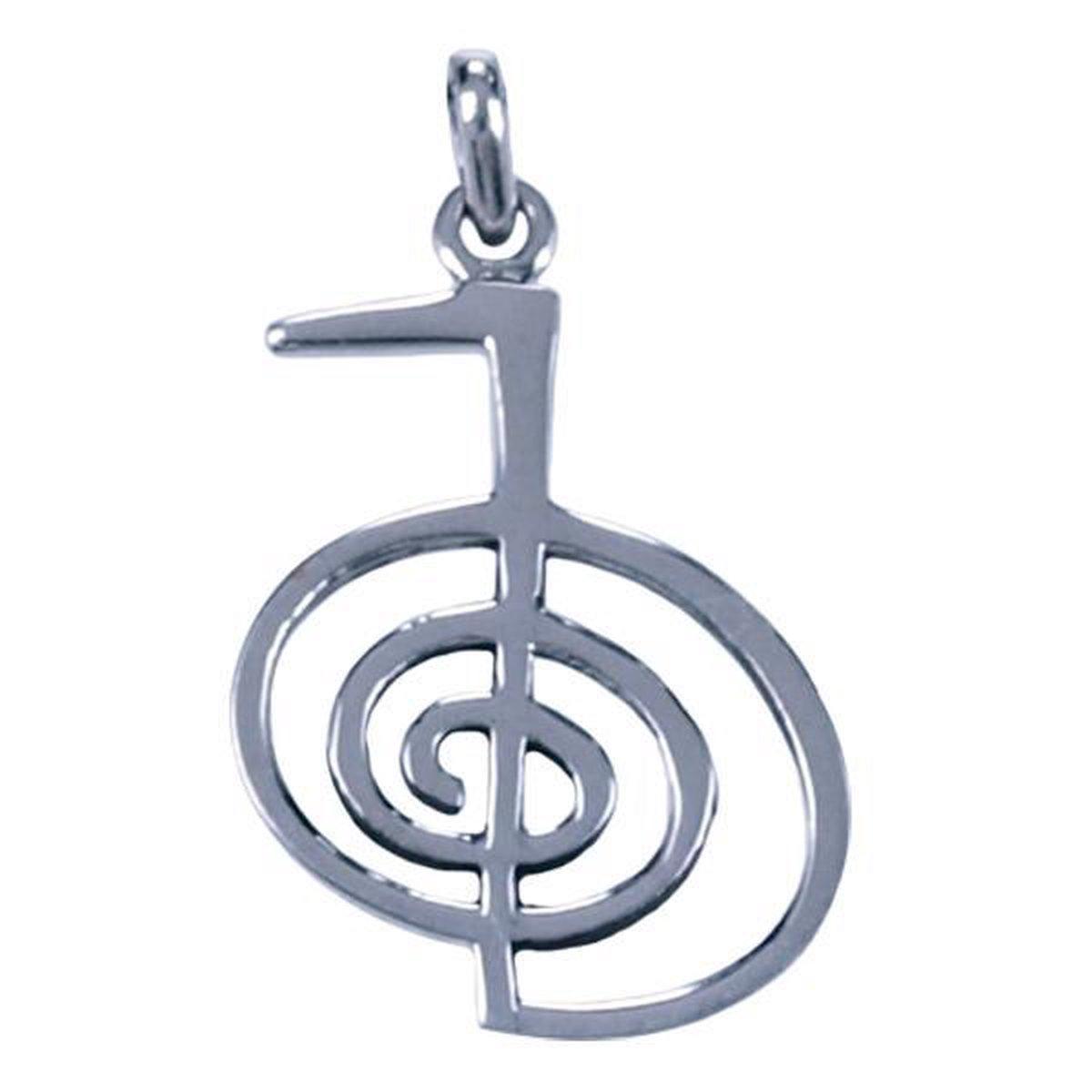 Zilver hanger van Choku rei - Power of symbols
