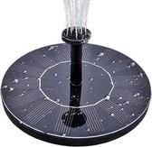 Solar Fontein op Zonne energie - Drijvende Fontein op Zonne-energie - Solar Fontein Pomp - Vijver Producten - Tuin Decoratie voor Vogelbad/Vijver/Tuin/Zwembad - Fontein met 8 Opzetstukken - Drijvende Fontein Pomp