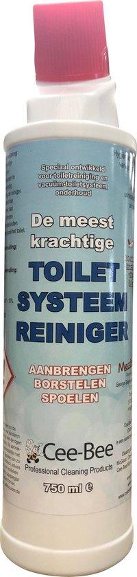 Cee-Bee WC reiniger | De reinigende kracht uit de luchtvaart industrie | 750ml | Sterk tegen urinesteen