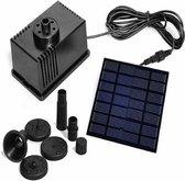 7 Volt / 1,5 Watt Fontein met zonne-energie voeding