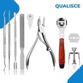 8-Delige Pedicure Set - Teennagelknipper - Eeltverwijderaar - Manicureset - Nagelknipper - Ingegroeide Teennagel - Nageltang