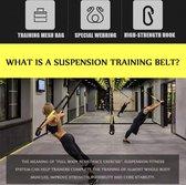 Fit&Healthy Professionele Suspension Trainer - Zwart / Geel - Tot 440KG
