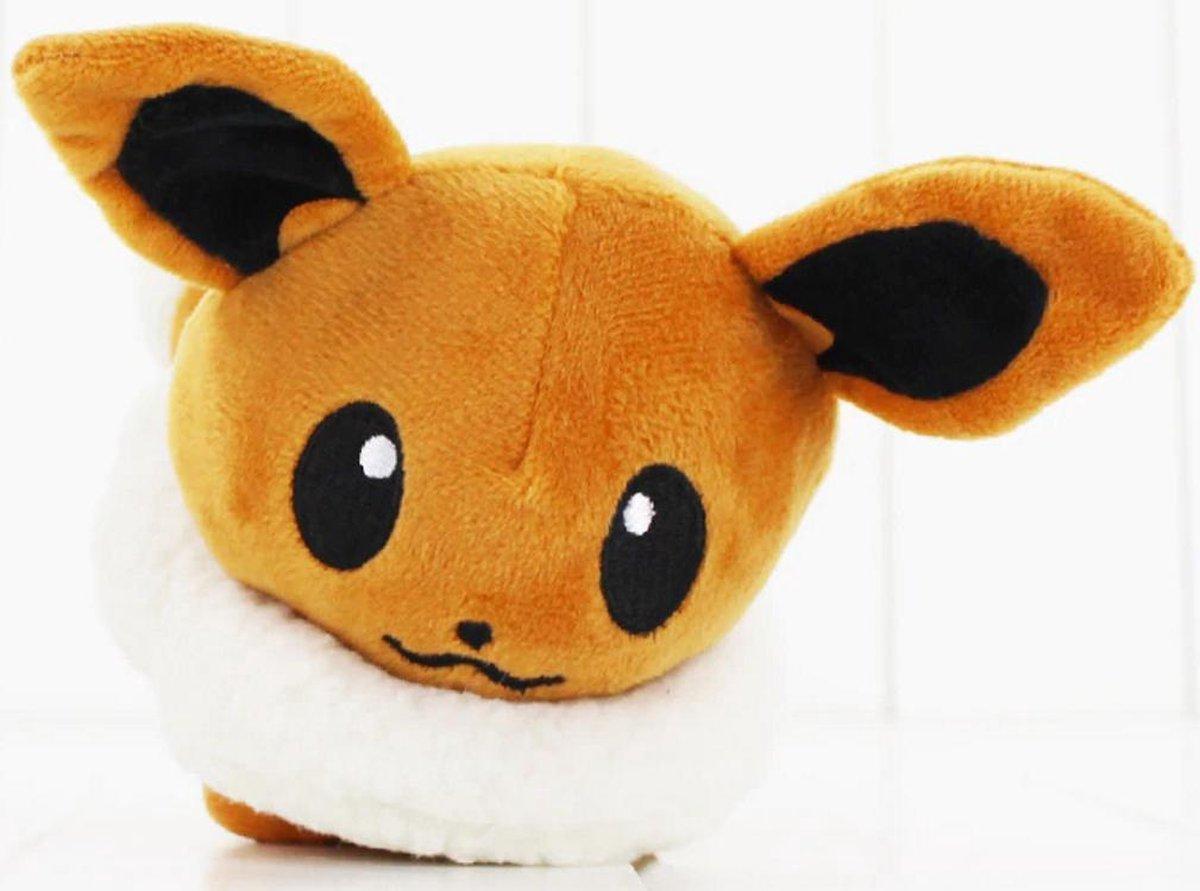 Knuffel Pokemon Eevee - bekend van de TV - creator - Pokémon - pokéball - speelgoed - Plushe
