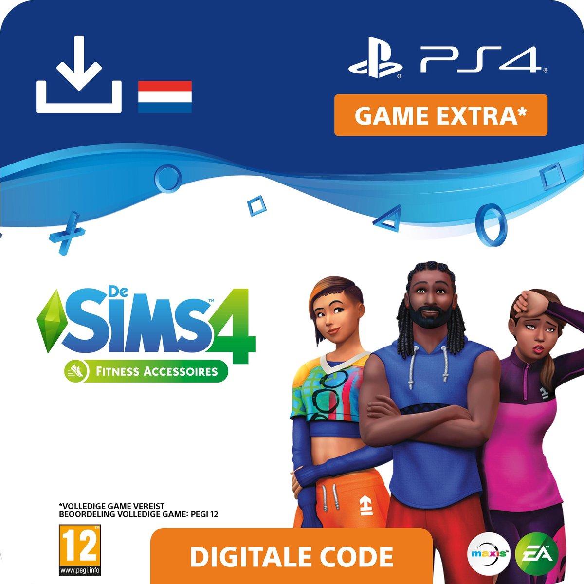 De Sims 4 - uitbreidingsset - Fitness Accessoires - NL - PS4 download