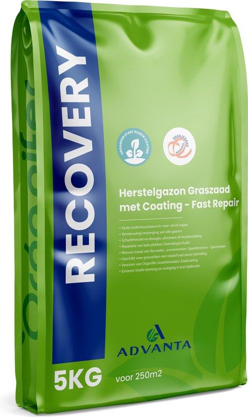 Herstelgazon Graszaad met Coating – Fast Repair (5Kg voor 250m2) Organifer