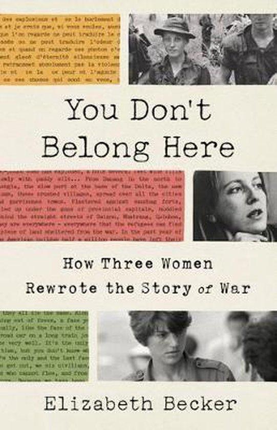 Boek cover You Dont Belong Here van Elizabeth Becker (Hardcover)