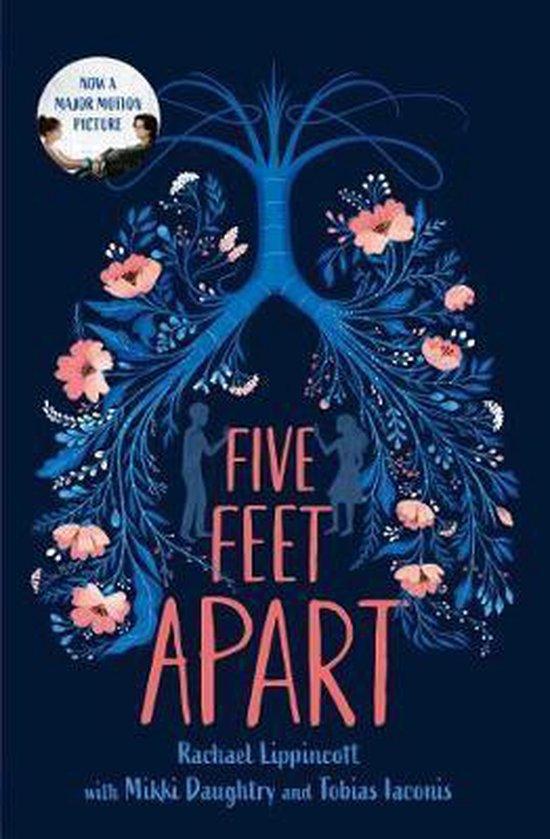 Boek cover Five Feet Apart van Rachael Lippincott