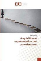 Acquisition et representation des connaissances