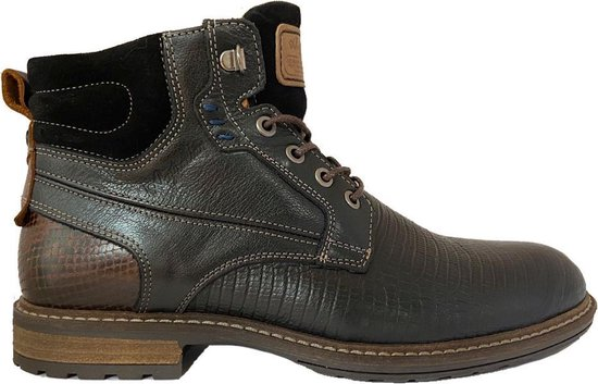 Zwarte Australian Veterschoenen Rick Leather