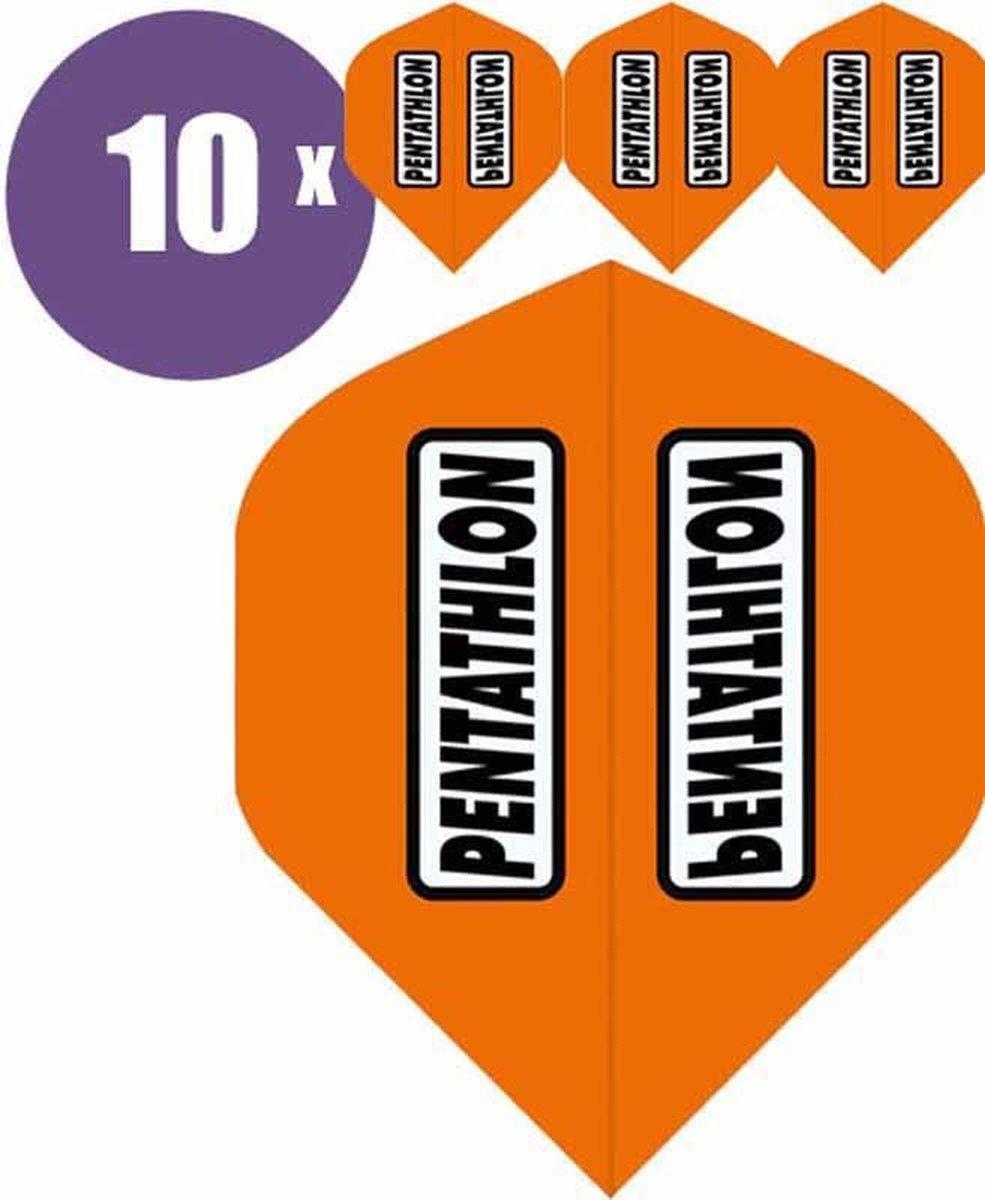 ABC Darts Flights - Pentathlon classic Oranje - 10 sets (30 st.) Dart Flights