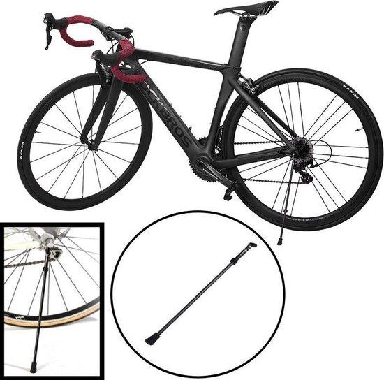 Decopatent® PRO Fietsstandaard - 24- 28 Inch - Mountainbike standaard - Mtb - Fietsenstandaard - Zijstandaard Fiets Universeel