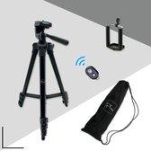 Picca camera statief - tripod smartphone - telefoon standaard - 102 cm