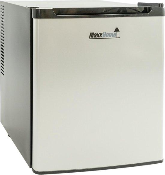 Koelkast: MaxxHome Mini Koelkast - Thermo-elektrisch - 42 Liter – Grijs Zwart, van het merk MaxxHome