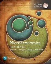 Boek cover Microeconomics, Global Edition van Robert Pindyck (Paperback)