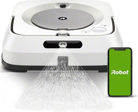 iRobot Braava M6 - Dweilrobot - Geschikt voor smarthome - M6138