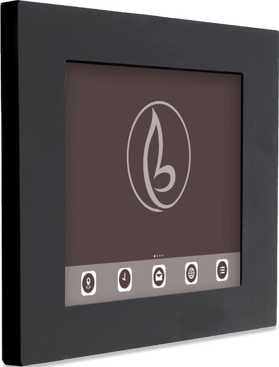 Tablet muurhouder Piatto voor Lenovo Tab 3 7 Essential – zwart – camera en home button bedekt kopen