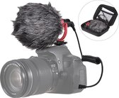 Andoer AD-M2 Camera Microfoon - Voor Telefoon en Camera - Coldshoe voor op camera - Goedkope cameramicrofoon