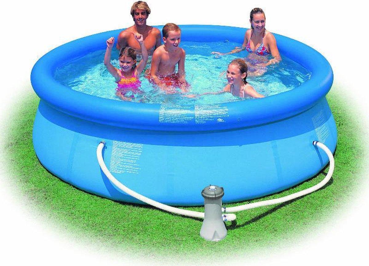Zwembad Intex 3,05 x 0,76 m - opblaasbaar zwembad - opblaaszwembad - inclusief cartridge filter